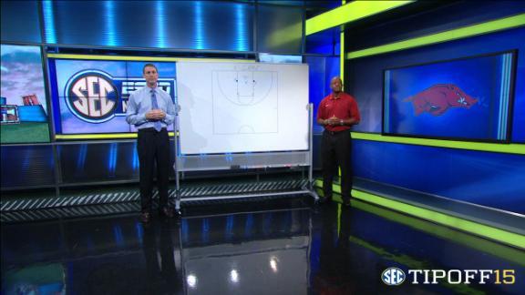 Coach's clicker: Arkansas's Anderson