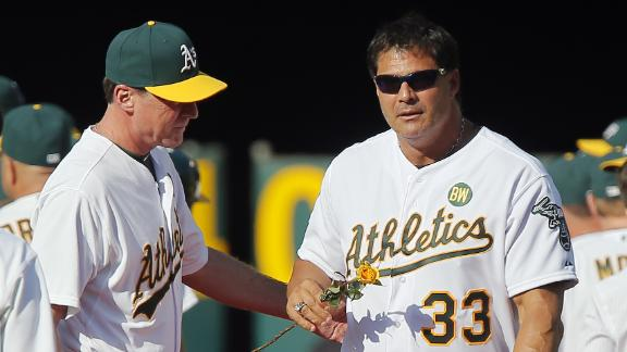 Jose Canseco Recovering After Shooting Himself In Hand