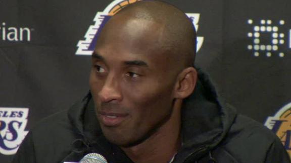 Kobe On Lakers' Loss