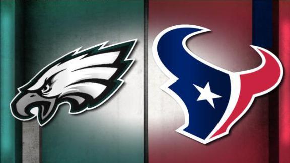 Video - NFL Live Prediction: Eagles-Texans