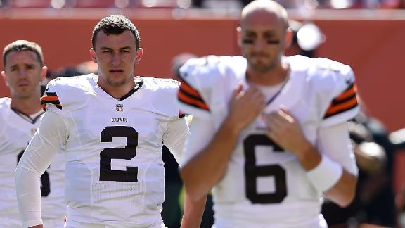 Browns Winning With Brian Hoyer But Want To Evaluate Johnny Manziel Eventually