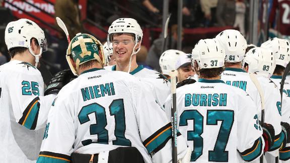Sharks Win In Shootout