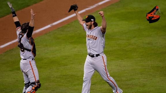 Bumgarner On World Series Win