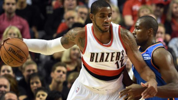 Blazers rally in fourth, beat depleted Thunder
