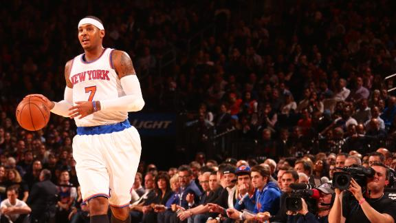 Knicks Adjusting To Triangle Offense