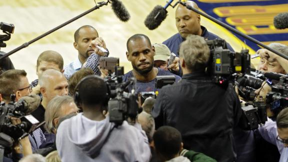 LeBron Set For Second Stint