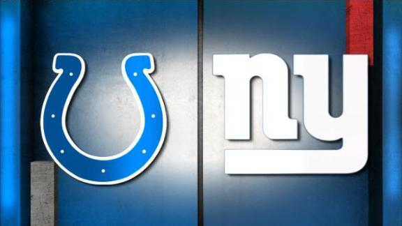 Video - NFL Live Prediction: Colts-Giants