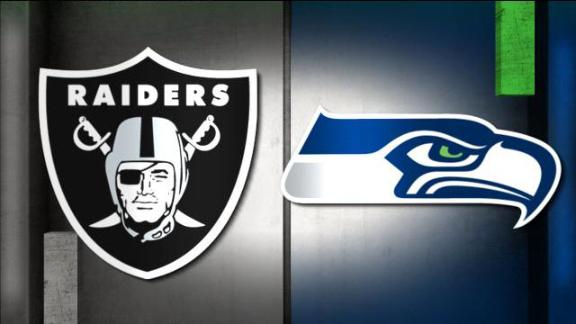 Video - NFL Live Prediction: Raiders-Seahawks