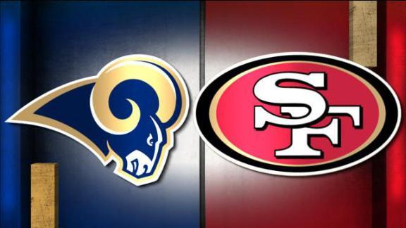NFL Live Prediction: Rams-49ers