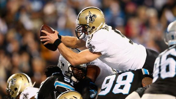 Saints Run Past Panthers