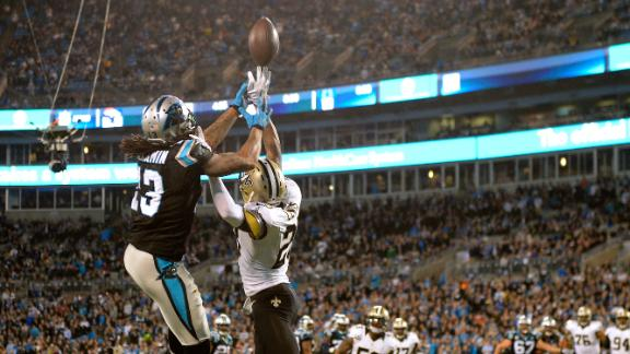 Game Balls: Panthers vs. Saints