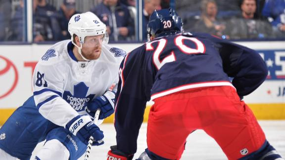 Maple Leafs Cruise Past Blue Jackets
