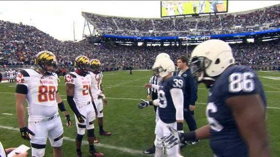Maryland-Penn State's Pregame Skirmish
