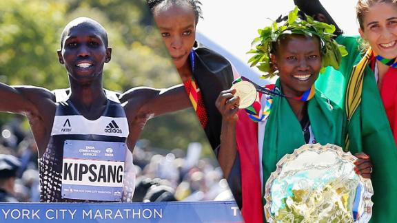 Kenyans Sweep NYC Marathon