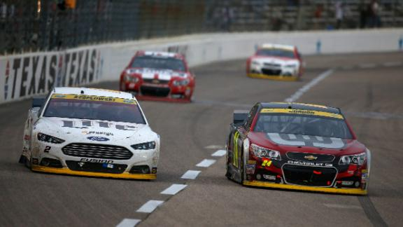 Keselowski's Aggressive Approach Leads To Melee