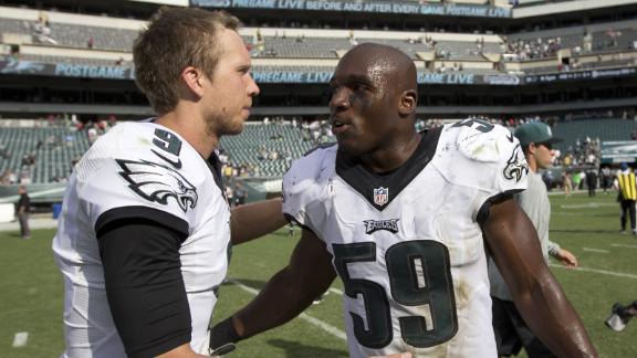 Foles, Ryans Massive Losses For Eagles