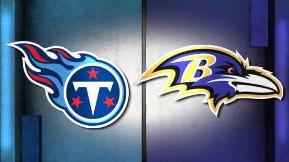 NFL Live Prediction: Titans-Ravens