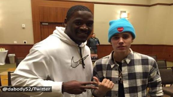 Did Bieber Curse The Steelers?