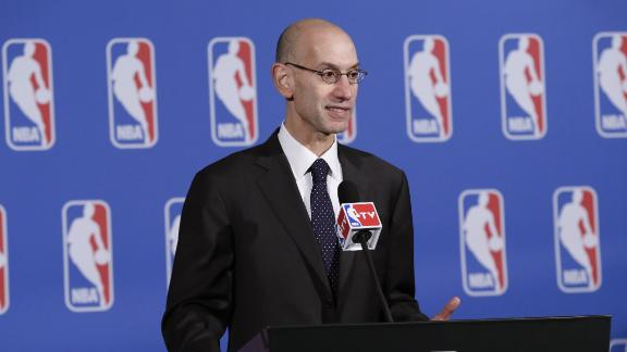 NBA Commissioner Calls For Legalized Sports Gambling