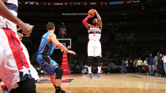 Wall, Wizards Win Third Straight