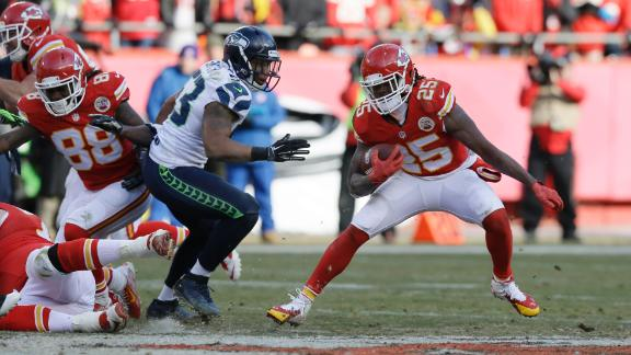 Game Balls: Seattle at Kansas City