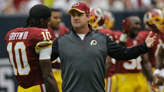 Gruden's Issues With RGIII