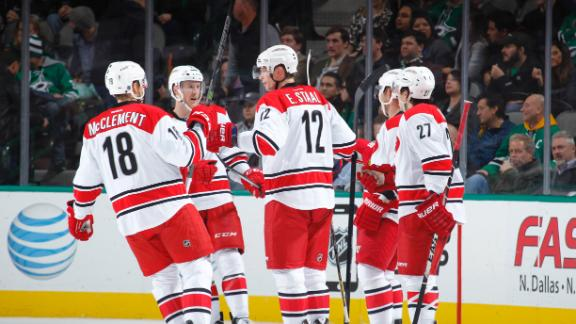 Hurricanes Hold Off Stars