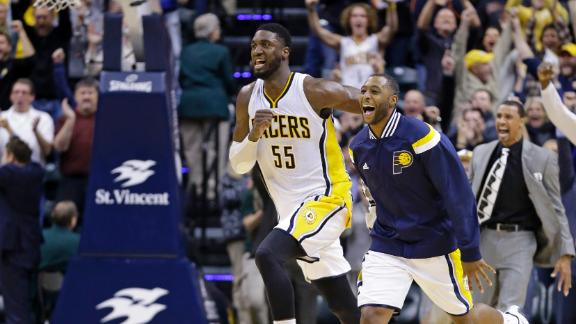 Video - Pacers Beat Hornets At The Buzzer