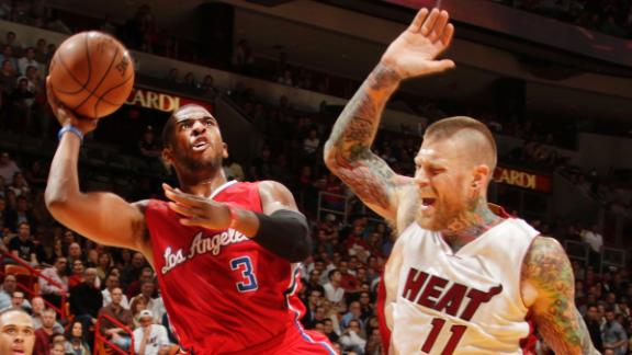 Clippers jump out fast in dousing of Heat