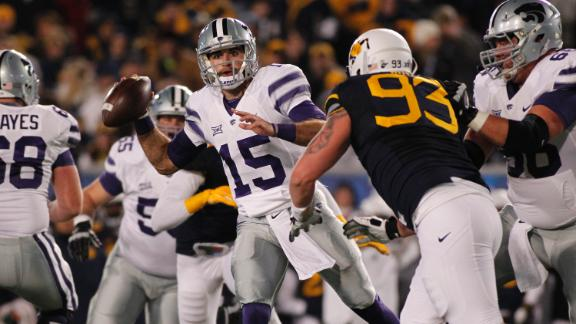 Kansas State Holds Off West Virginia