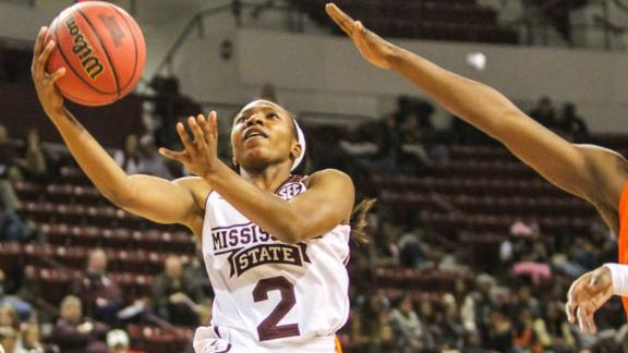 MSU upsets No. 17 WVU to advance in WNIT