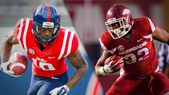 Ole Miss At Arkansas Preview