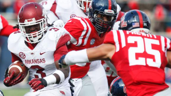 Arkansas host Ole Miss on senior day