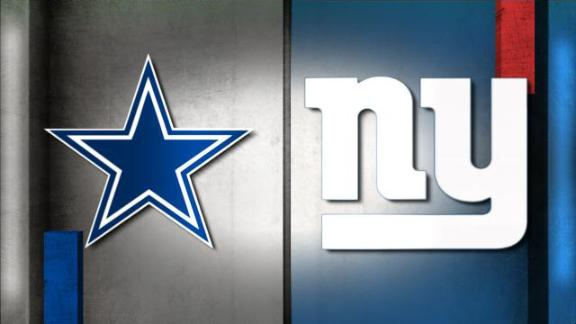 NFL Live Prediction: Cowboys-Giants