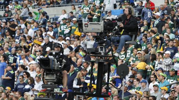 NFL Football Dominates Fall Television