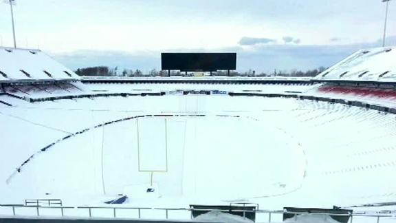 Weather Affecting Bills' Preparations