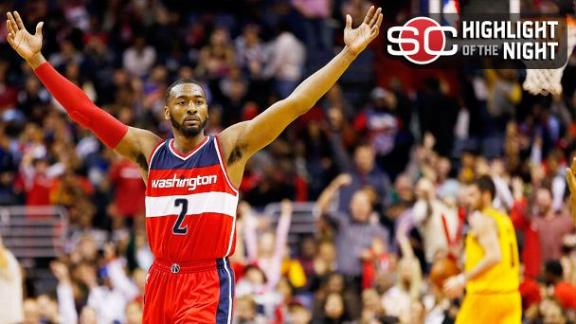 Wall, Wizards Put Away Cavs