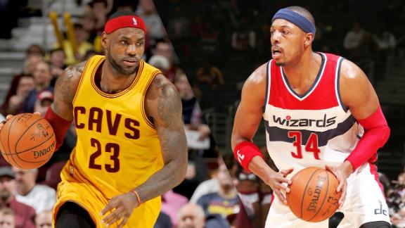 Pierce Has Total Respect For LeBron James