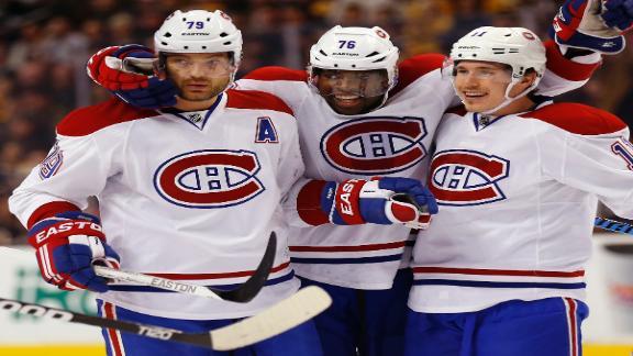Canadiens Blank Bruins