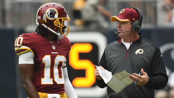 Gruden On RG III: He's Auditioned Long Enough