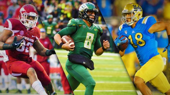 Oregon No. 2 In CFB Power Rankings