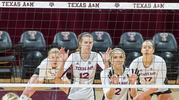 Aggies get 19th win in sweep of Missouri
