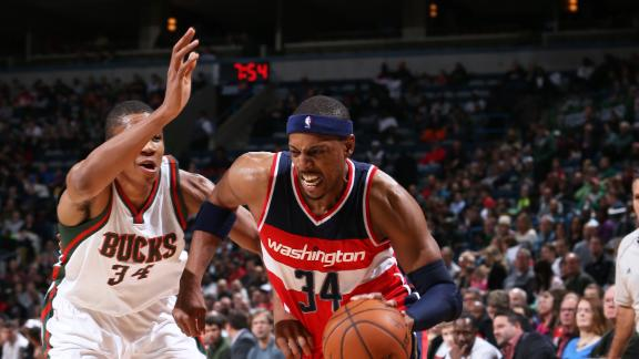Pierce, Wizards Win Second Straight