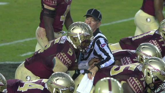 Should Winston Have Been Penalized For Ref Contact?
