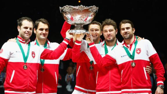 Federer, Switzerland Win Davis Cup