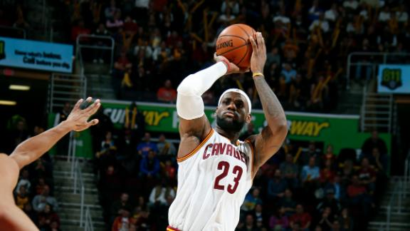 LeBron James proves he doesn't stink in win over Magic