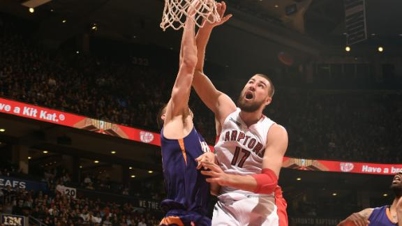 Video - Raptors Hold Off Suns For Fifth Straight Win