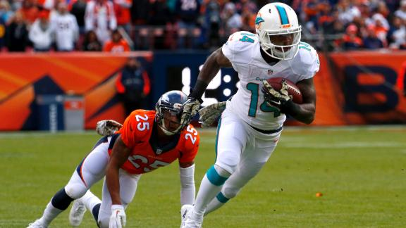 Fantasy: Dolphins' Wideouts