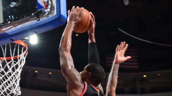 Video - Aldridge Leads Blazers Past 76ers