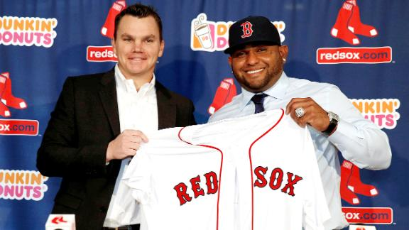 Red Sox Introduce Sandoval